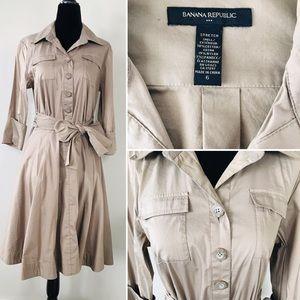 BANANA REPUBLIC 3/4 Shirt Dress